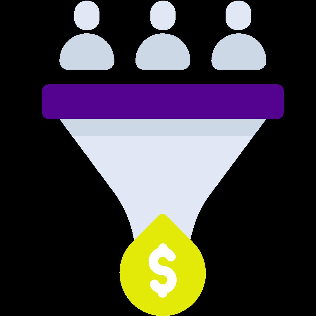 Zmiana większego odsetka obecnych leadów na płacących klientów