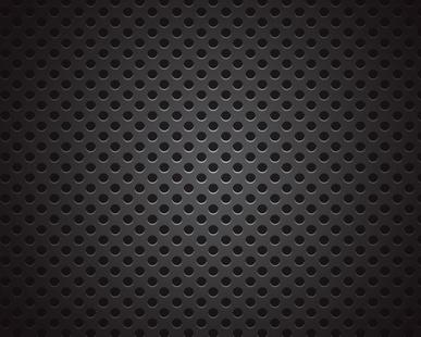Leder schwarz perforiert