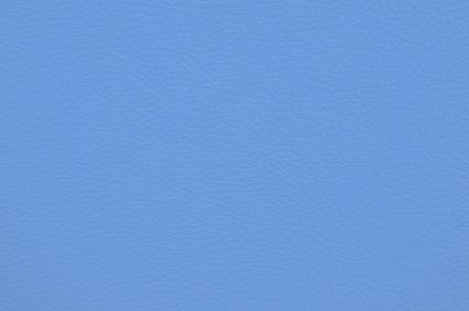 Leder hellblau