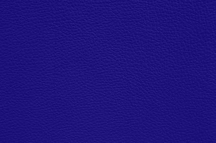 Leder königsblau