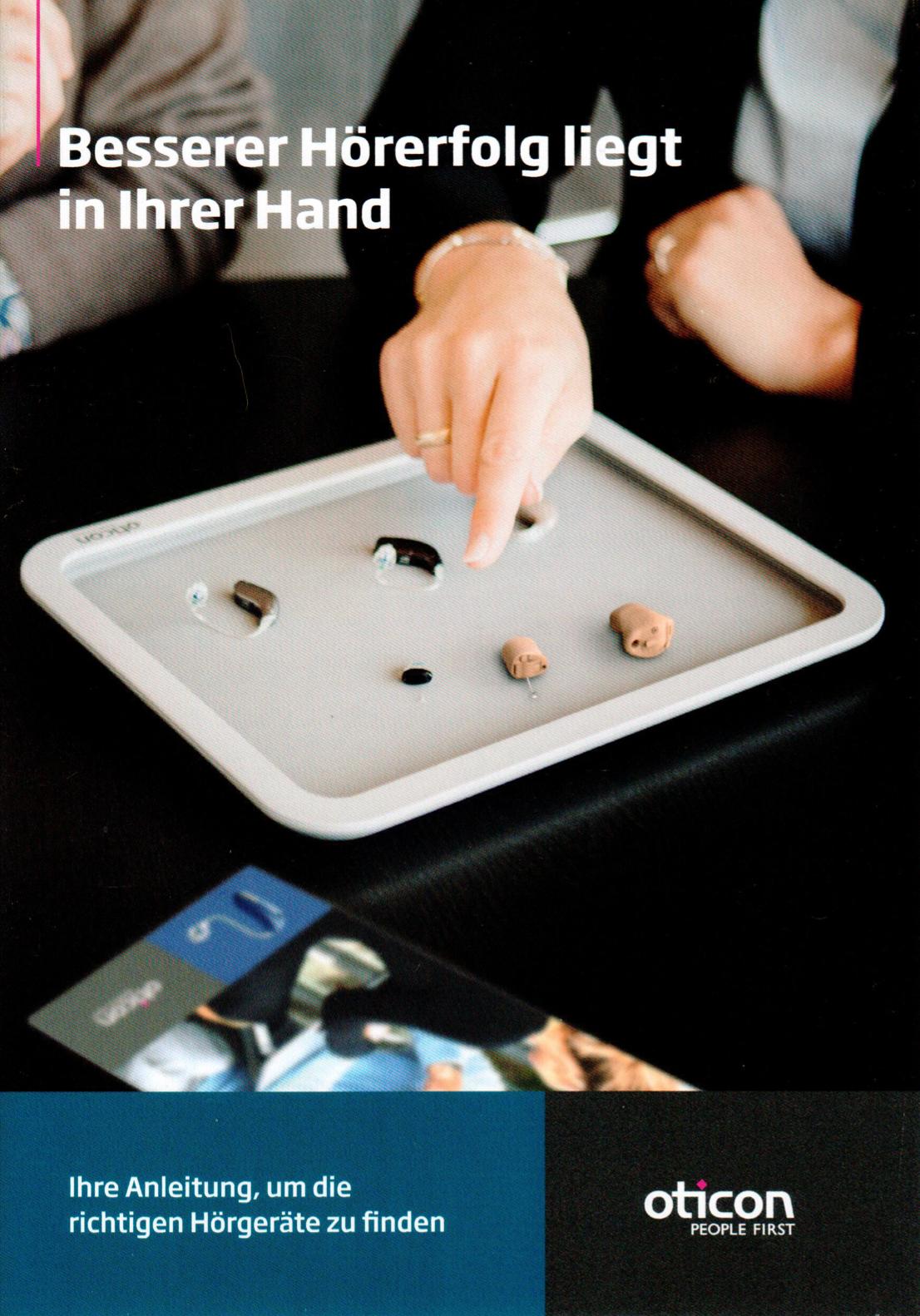 Broschüre: Besserer Hörerfolg liegt in Ihrer Hand