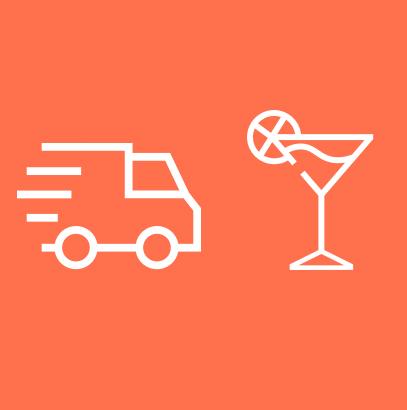 Consegna drink + Barman