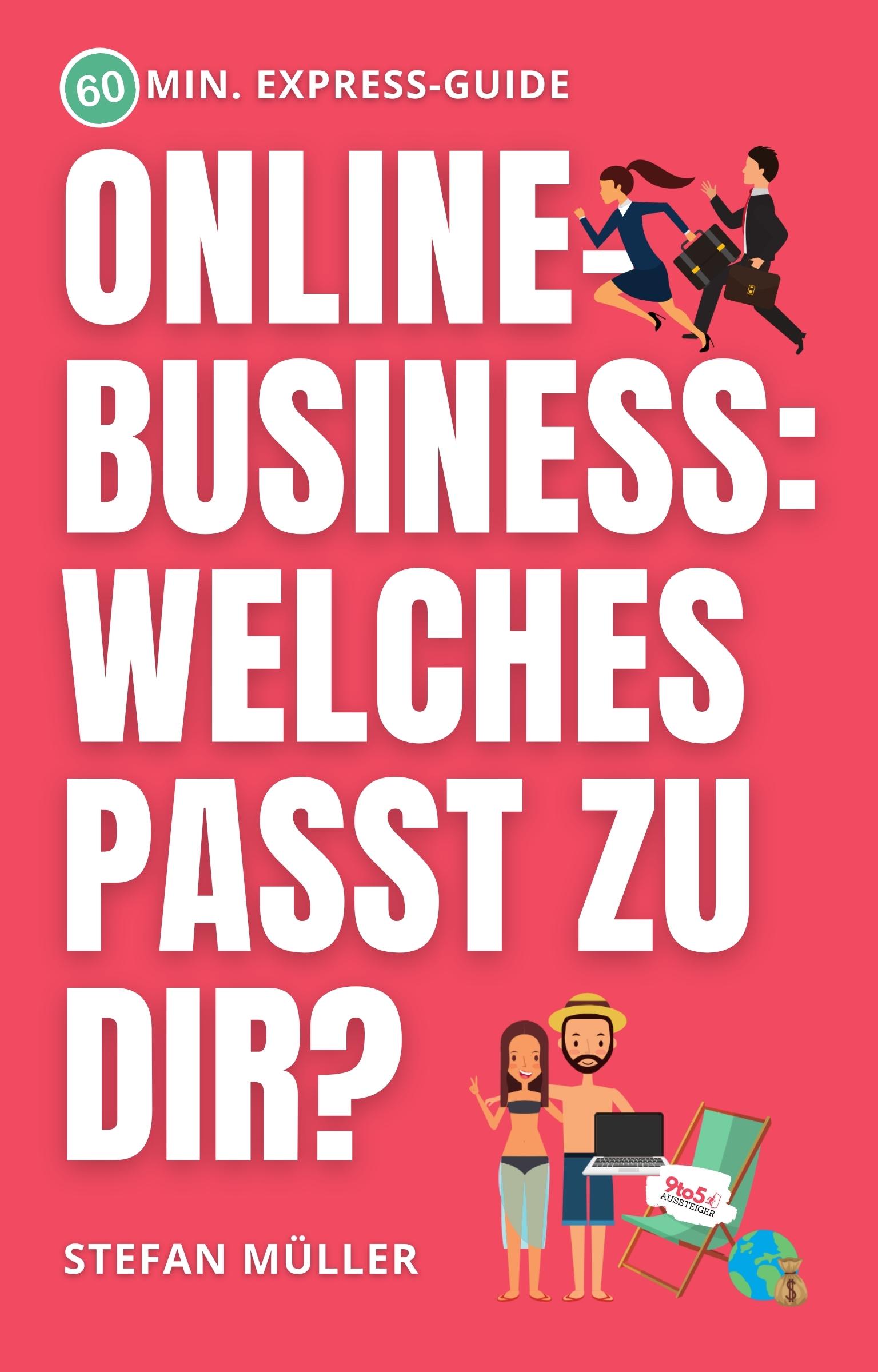 """Der Online-Test zum Buch """"Online-Business: Welches passt zu dir?"""""""
