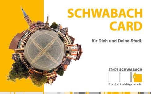 Registrierung Ihrer Schwabach Card