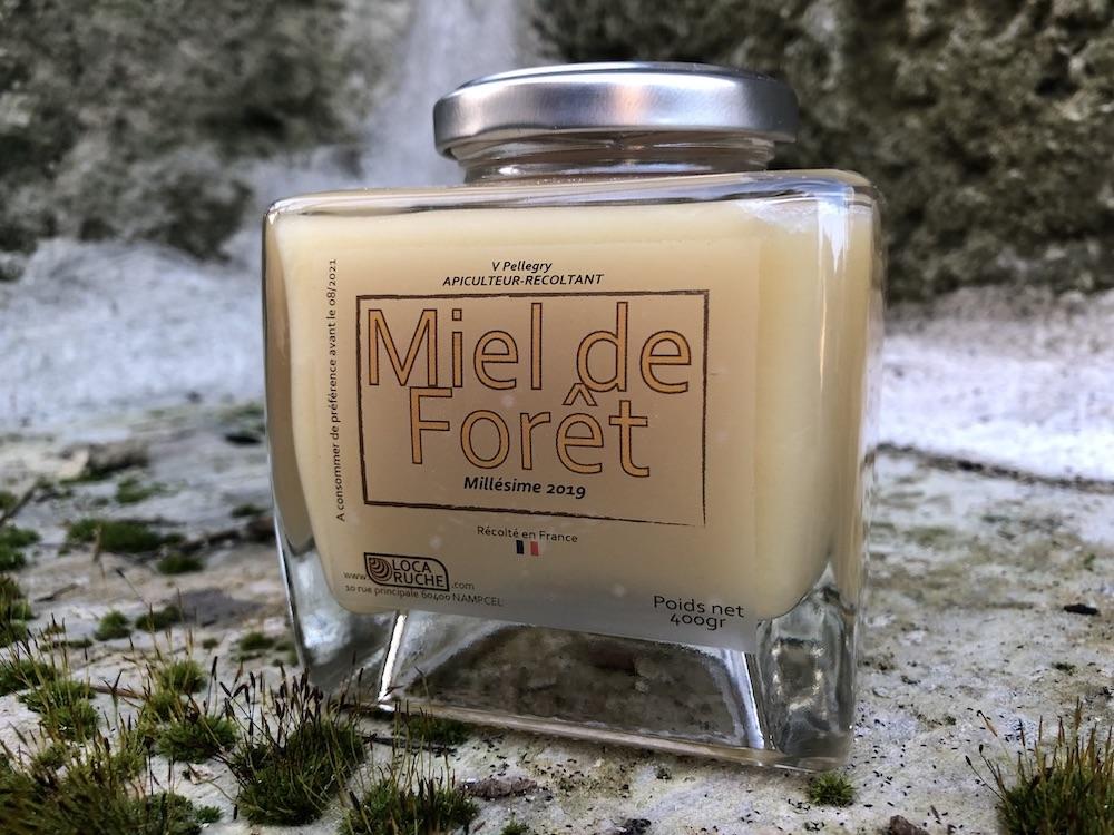 Miel de forêt pot Premium 400gr